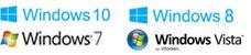 Compatible avec Microsoft