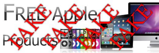 Ne pas tomber pour les escroqueries de texte qui vous promettent libère les produits de Apple