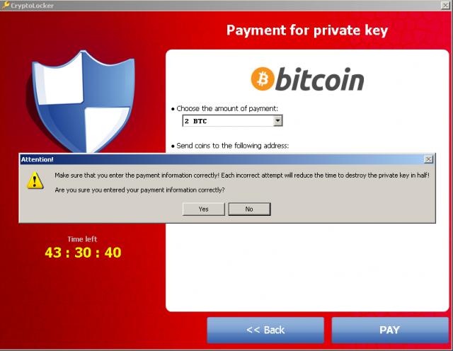 La menace de l'année : Cryptolocker instantané