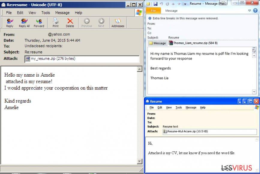 Comment identifier un courriel infecté par un virus ? instantané
