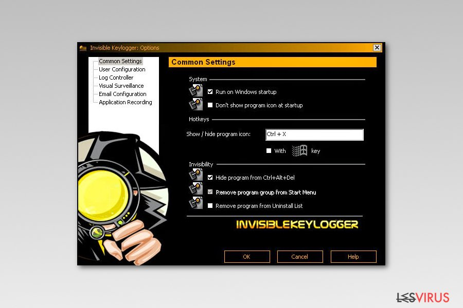 Invisible Stealth Keylogger