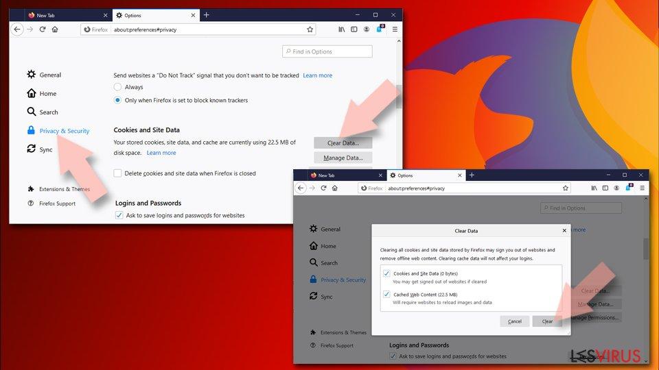 Réinitialiser Mozilla Firefox