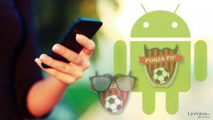 La note de rançon de Cerber a été retrouvée dans deux applications Android