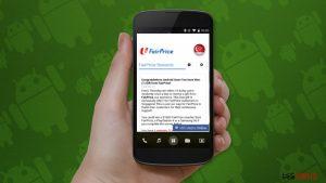 """Le scam """"Félicitations, vous avez gagné"""" commence à perturber les utilisateurs Android"""
