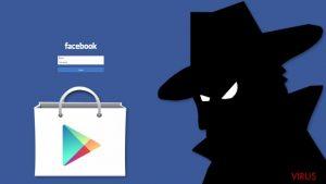 Un maliciel voleur des données de Facebook détecté sur Google Play Store