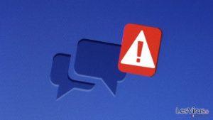 Vous pouvez actuellement contracter l'infection du rançongiciel Locky à travers Facebook !