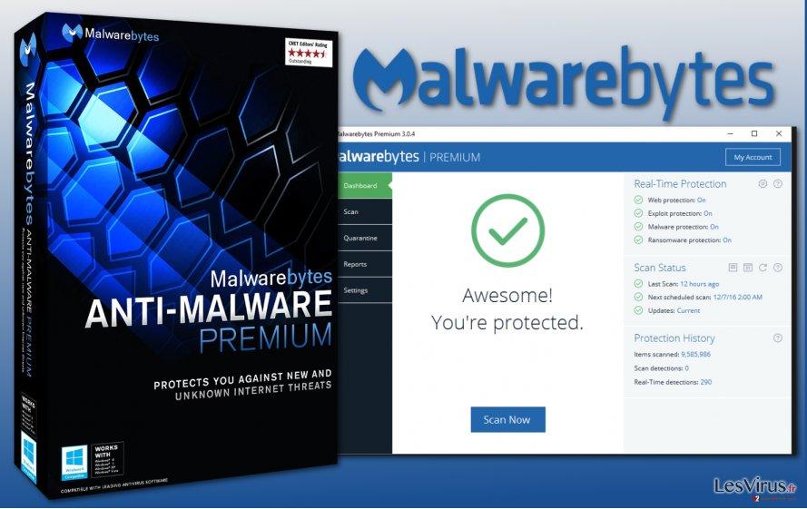 Malwarebytes anti-malware image