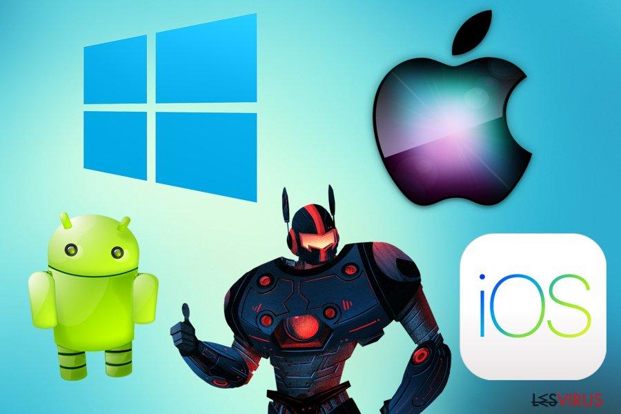 Malwarebytes for various platforms