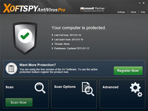 XoftSpySE Anti Spyware instantané