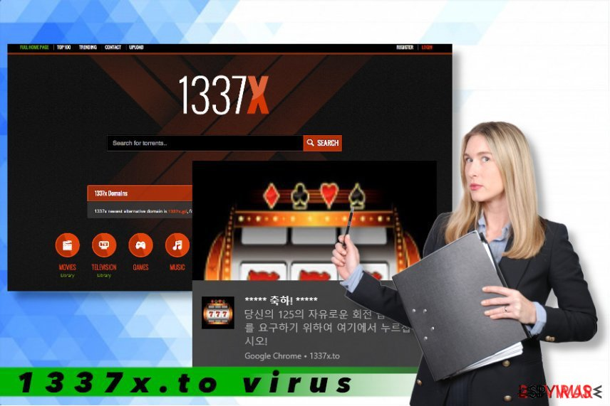 Le virus 1337x.to