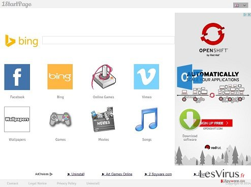 1startpage.com instantané