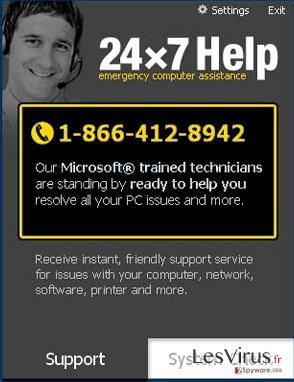 24×7 Help instantané
