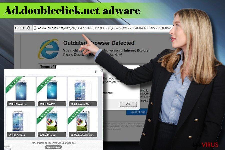 Publicités Ad.doubleclick.net