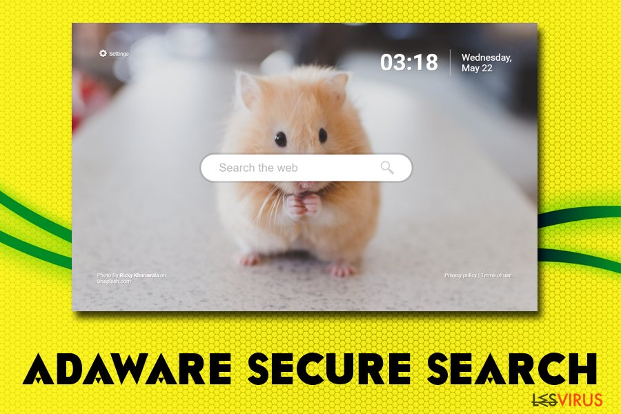 Adaware secure search