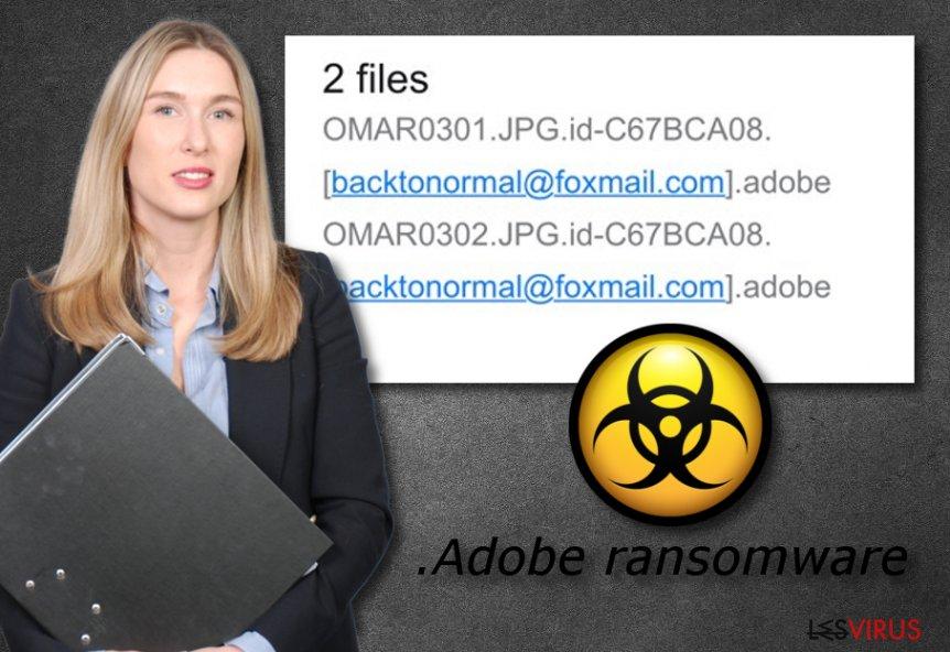 le ransomware .adobe