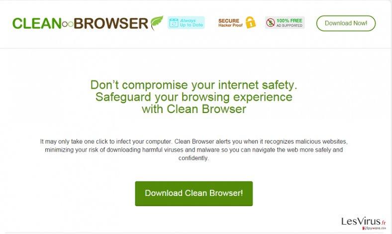 Annonces par Clean Browser instantané