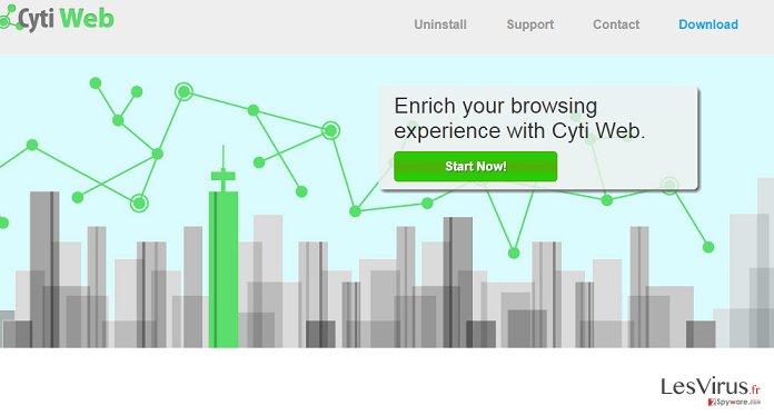 Annonces par Cyti Web instantané