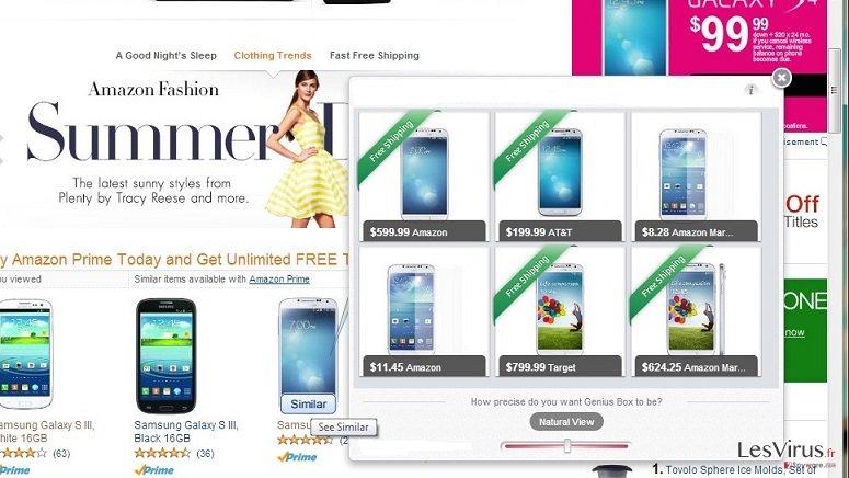 iDeals Shopping Optimizer instantané