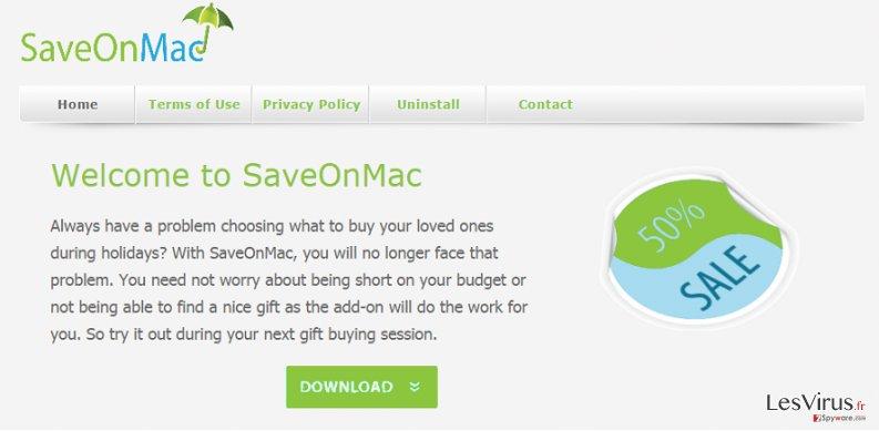 Annonces par SaveOnMac instantané