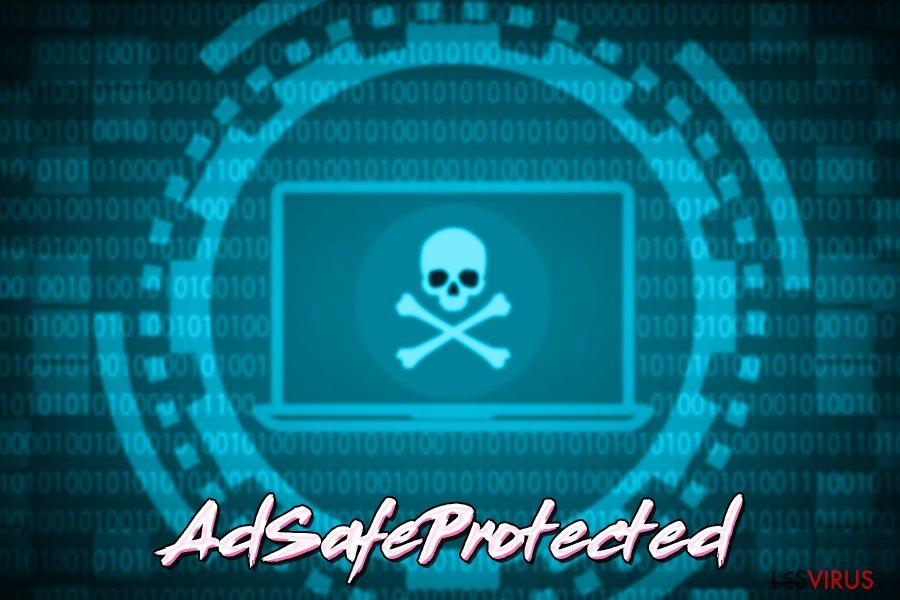 le virus AdSafeProtected