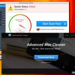 Le virus Advanced Mac Cleaner instantané