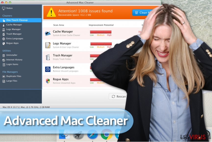Le virus Advanced Mac Cleaner
