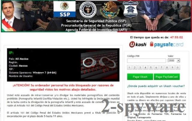 Agencia Federal de Investigación virus instantané