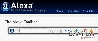 Alexa Toolbar instantané