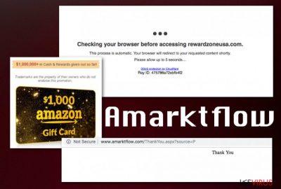 l'arnaque Amarktflow
