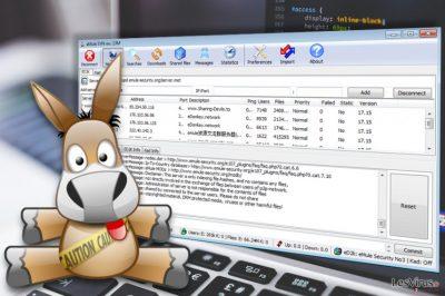 Capture d'écran de l'application amuleC