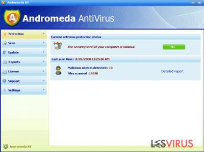 Andromeda AntiVirus