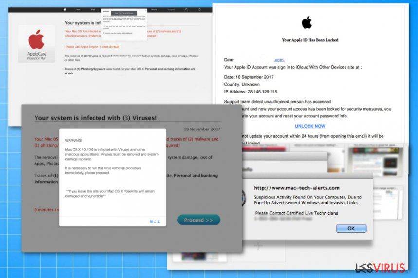 Fraudes virus Apple