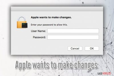le virus « Apple Wants to Make Changes »