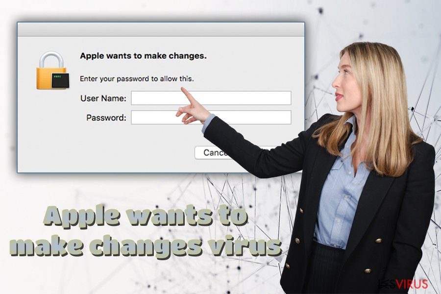 l'adware « Apple Wants to Make Changes »