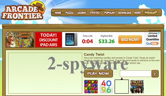 Arcade Frontier instantané