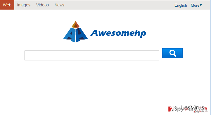 Awesomehp.com instantané
