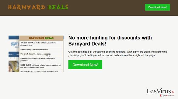 Barnyard Deals virus instantané