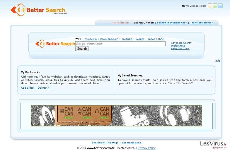 Bettersearch.tk instantané
