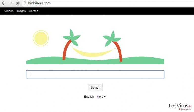 Binkiland.com virus instantané