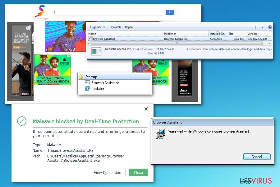 Paquet Browser Assistant