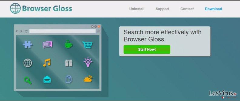 Annonces par Browser Gloss instantané
