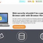 Browser Hero adware instantané