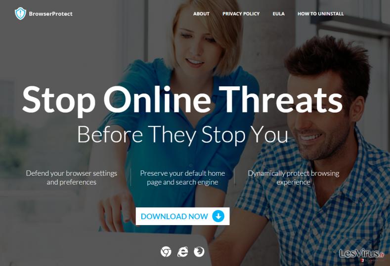 BrowserProtect adware instantané