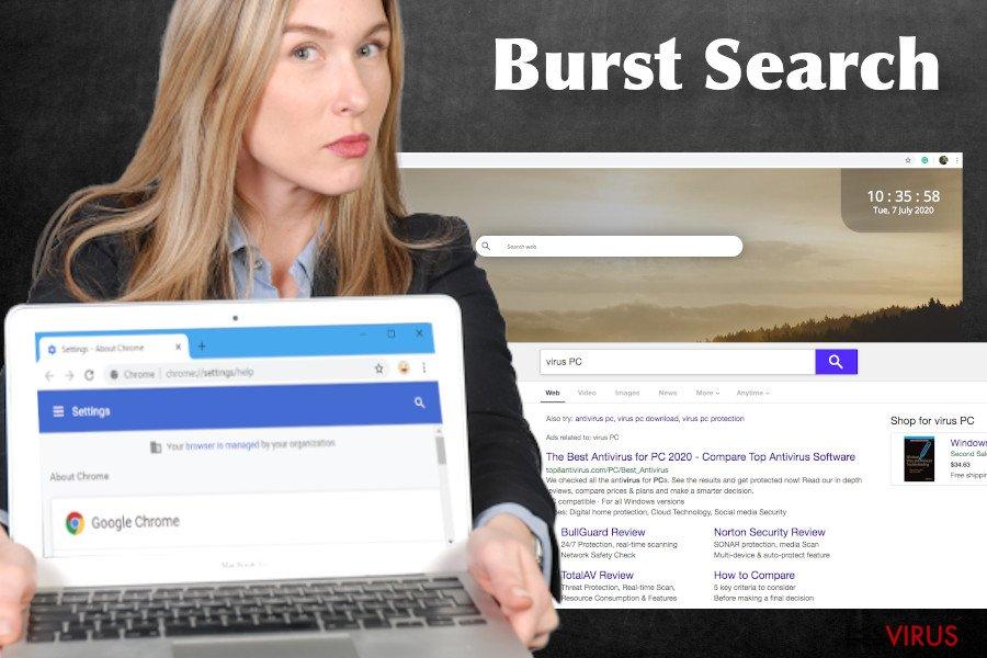 Virus Burst Search