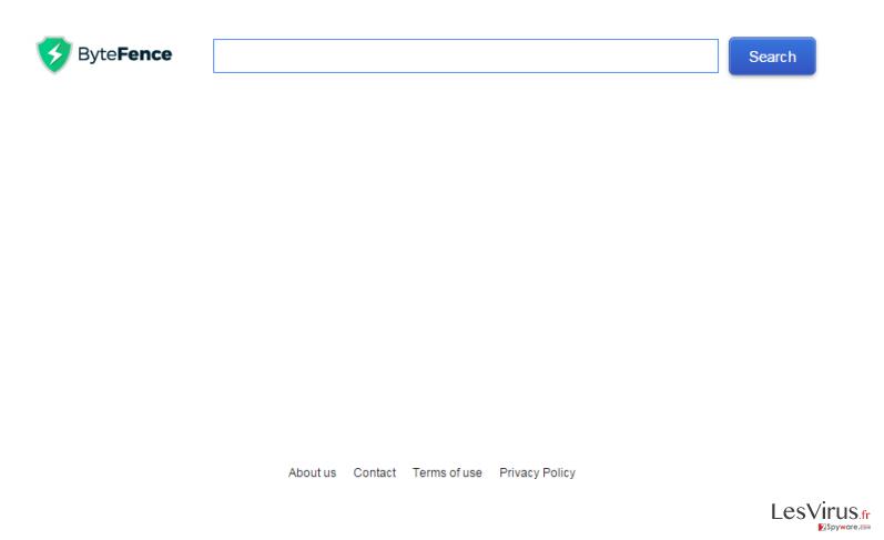 Search.bytefence.com instantané