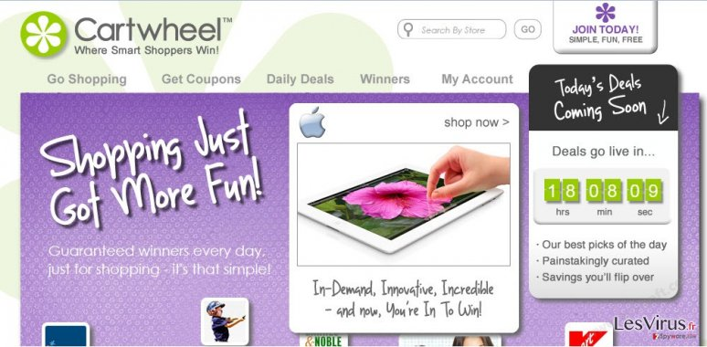 Annonces de Cartwheel Shopping instantané