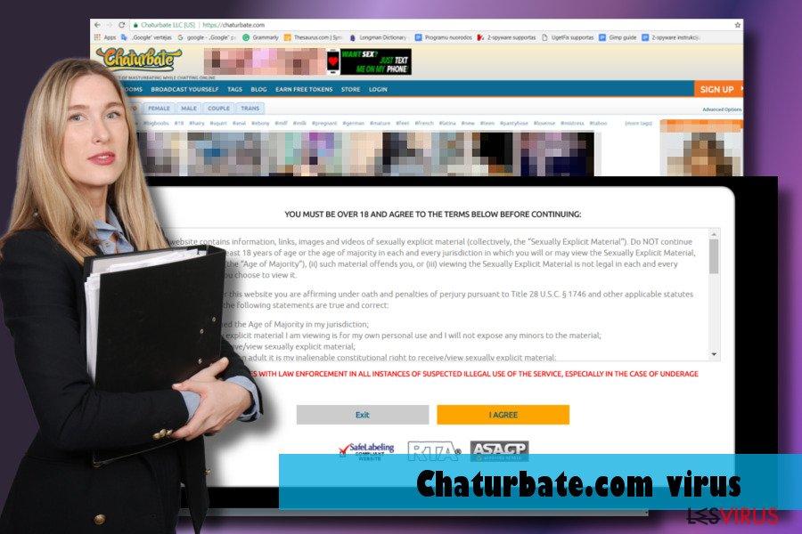 Présentation du virus Chaturbate.com