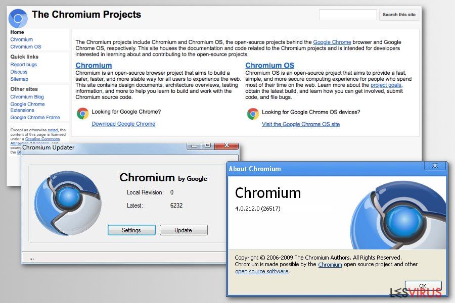 Le projet Chromium