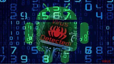 Image illustrant le maliciel Android com.google.provision