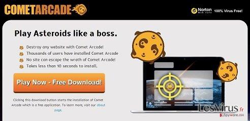 Comet Arcade virus instantané
